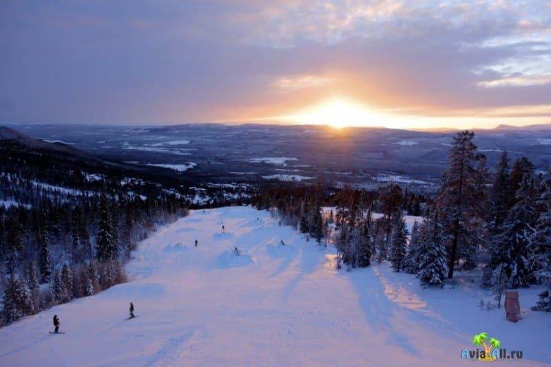 Горнолыжные курорты Швеции. Обзор, трассы, путеводитель3