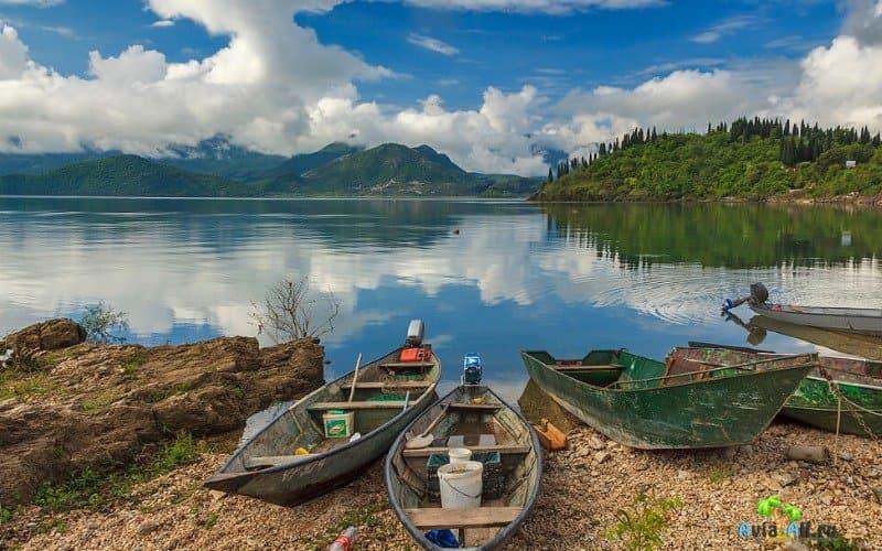 Прогулка по Скадарскому озеру