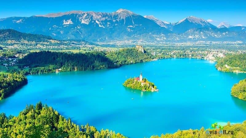Экологический туризм в Словении
