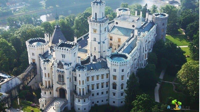 Замки и крепости в Чехии
