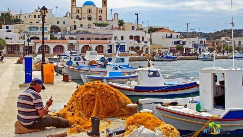 Липси - уютный остров для отдыха в Греции