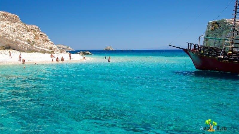 Пляжи острова Липси