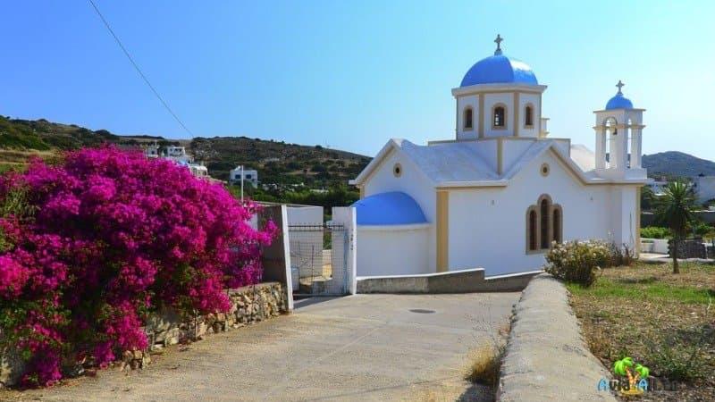 Церковь на острове Липси