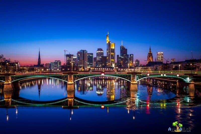 Франкфурт-на-Майне - обзор крупного города Германии. Транспорт2