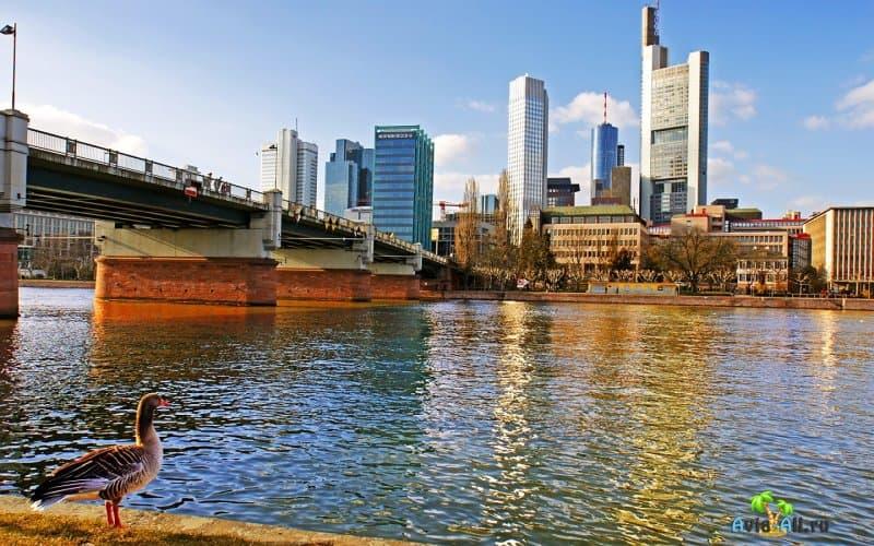 Франкфурт-на-Майне - обзор крупного города Германии. Транспорт3