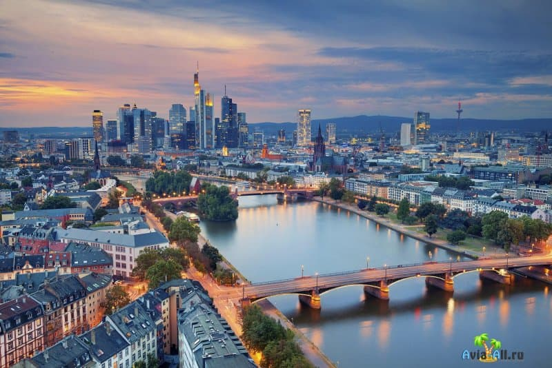 Франкфурт-на-Майне - обзор крупного города Германии. Транспорт4