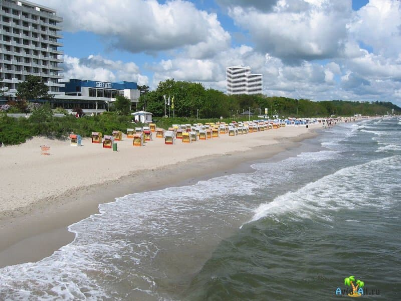 Тиммендорфер-Штранд - обзор морского курорта Германии. Здравницы2