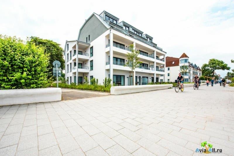 Тиммендорфер-Штранд - обзор морского курорта Германии. Здравницы3
