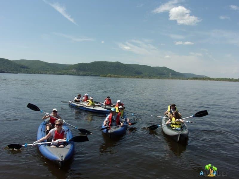 Река Волга - сплав на байдарках и катамаранах. Особенности речного отдыха3