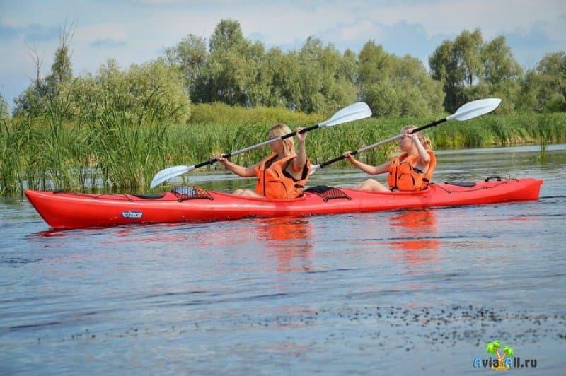 Река Волга - сплав на байдарках и катамаранах. Особенности речного отдыха4
