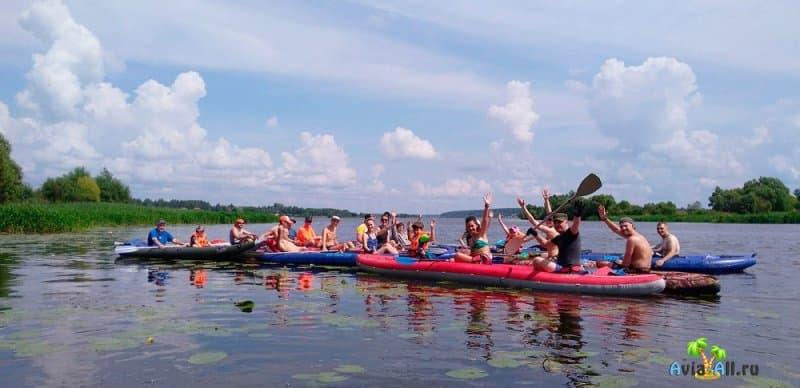 Река Волга - сплав на байдарках и катамаранах. Особенности речного отдыха2