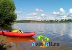 Река Волга - сплав на байдарках и катамаранах. Особенности речного отдыха1