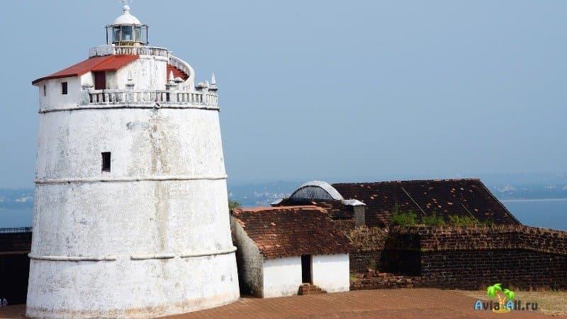 Маяк форта Агуада