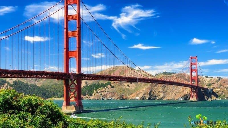 Строительство моста Голден гейт Сан-Франциско