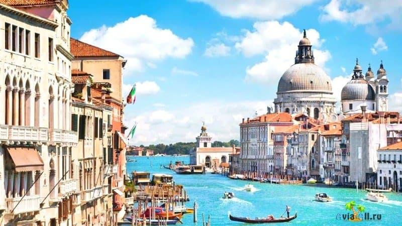 Города Италии достопримечательности. Венеция