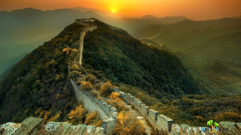 Великая Китайская стена в Китае