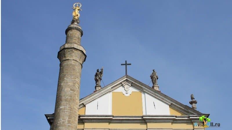 Каменец Петропавловский костел