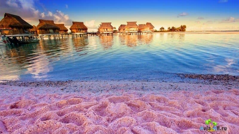 Пляж Пинк Сэндс