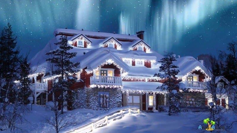 Лапландия Санта Клаус резиденция