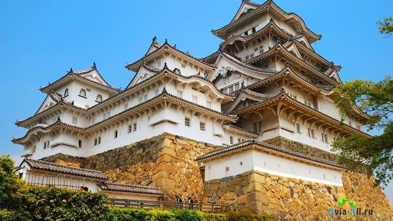 Химэдзи замок белой Цапли