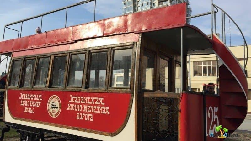Казань Суконная Слобода трамвай