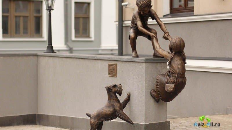 Памятник доверие в Казани