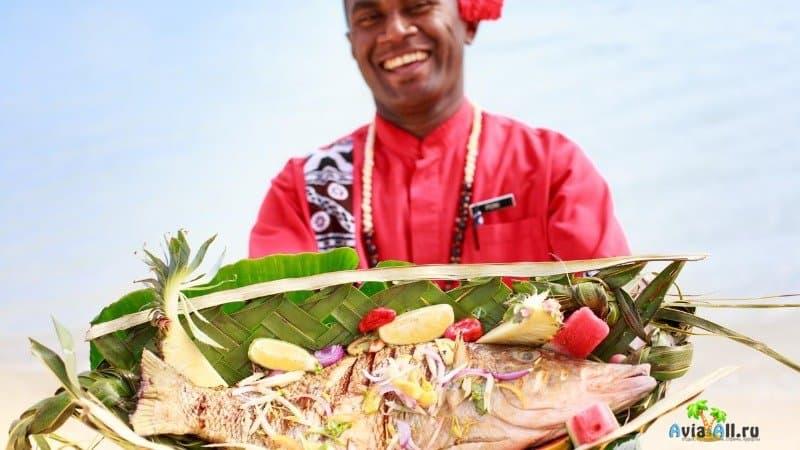 Еда на Фиджи