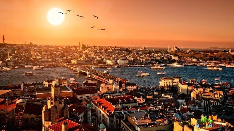 Город Стамбул фото