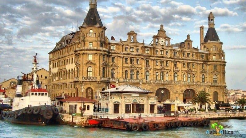Вокзал Стамбула Хайдарпаша