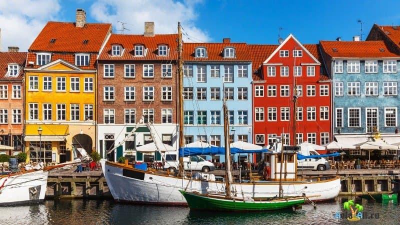 Дания Копенгаген фото