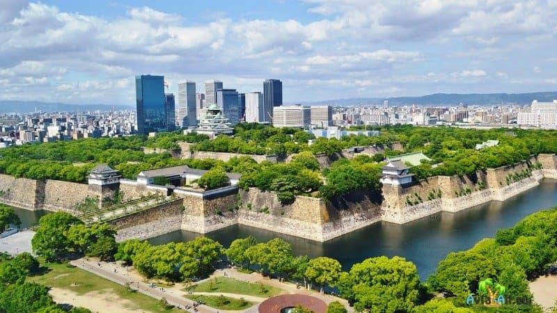 Япония город Осака