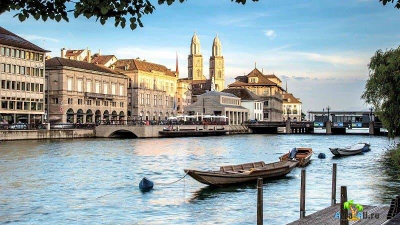 Цюрих Швейцария фото