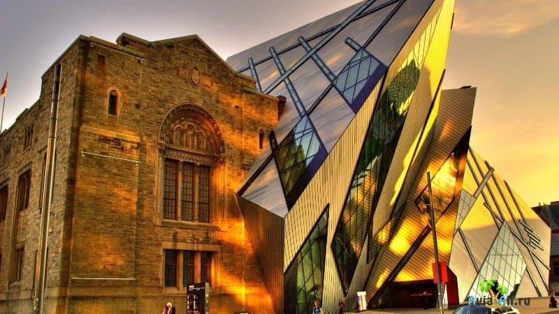 Королевский музей Онтарио Торонто Канада