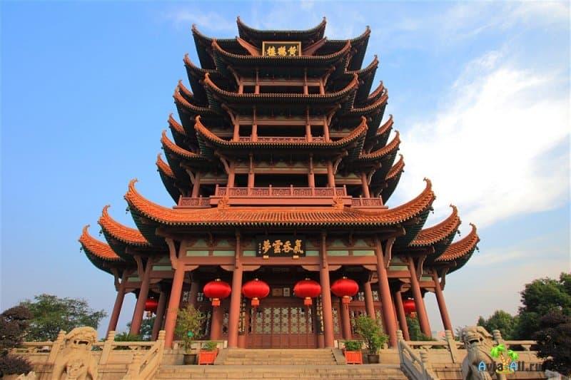 Визитная карточка провинции Хубэй - Башня желтого журавля. Культурный объект4