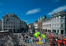 Неспешный променад по пешеходной улице Строгет, в центре Датской столицы1