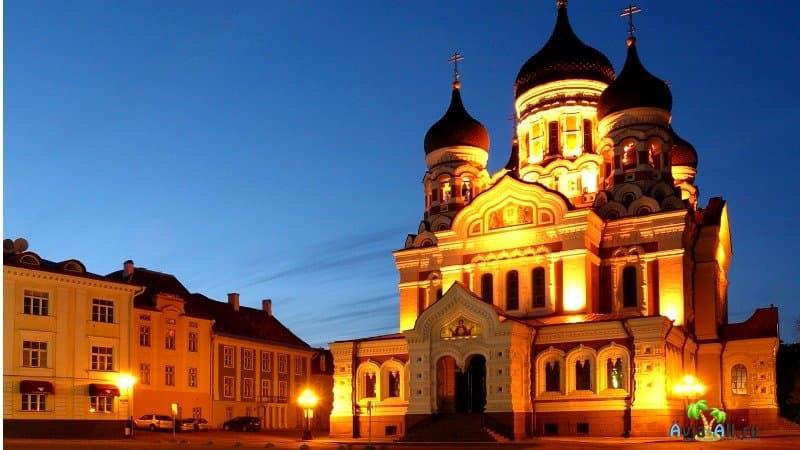 Собор Александра Невского Таллин