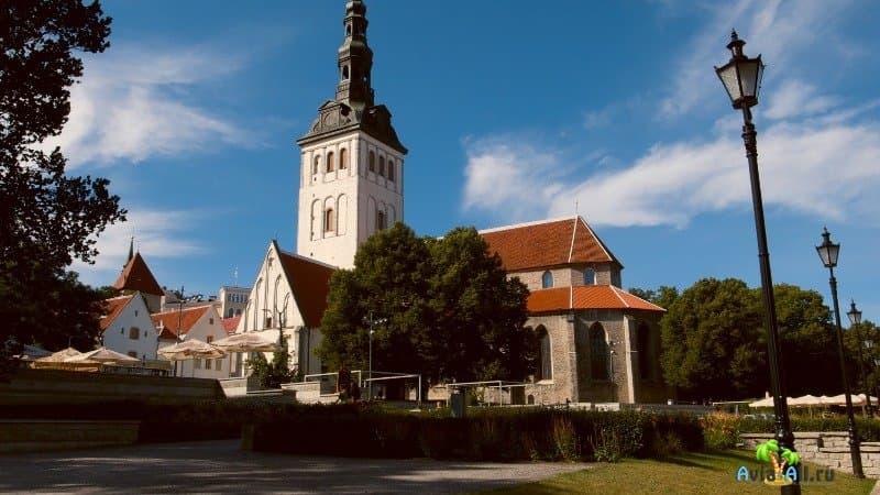 Эстония Таллин достопримечательности