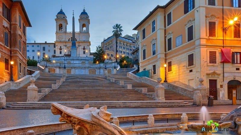 Италия испанская лестница