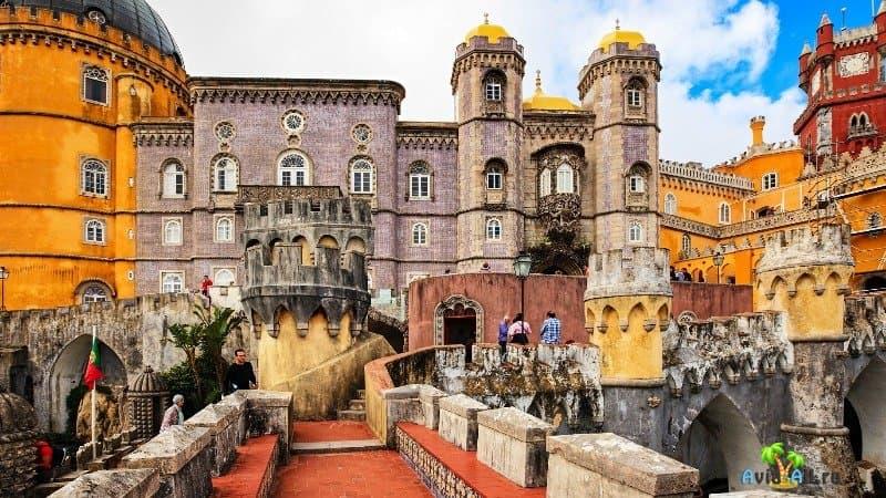 Замок Синтра Португалия