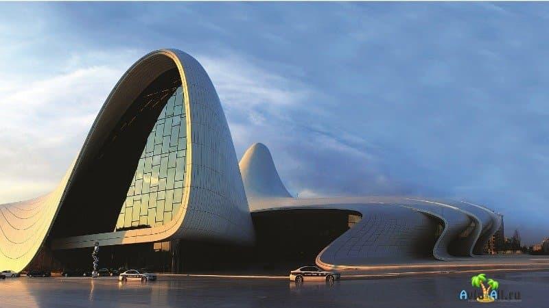 Баку центр Гейдара Алиева