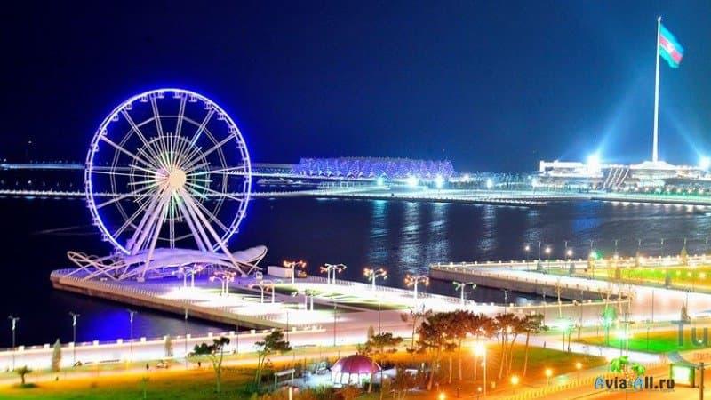 Город Баку бульвар
