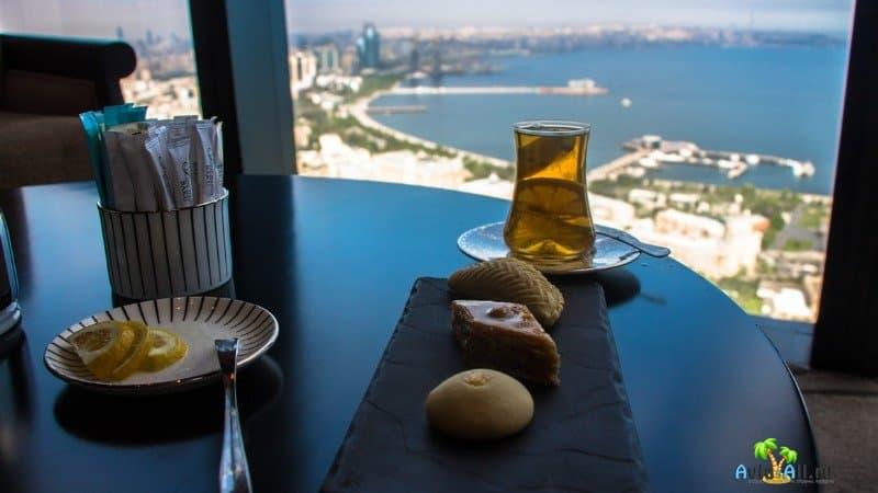 Ресторан в Баку в телебашне