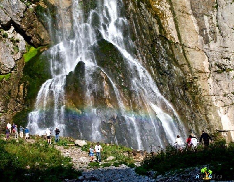 Водопад в Абхазии