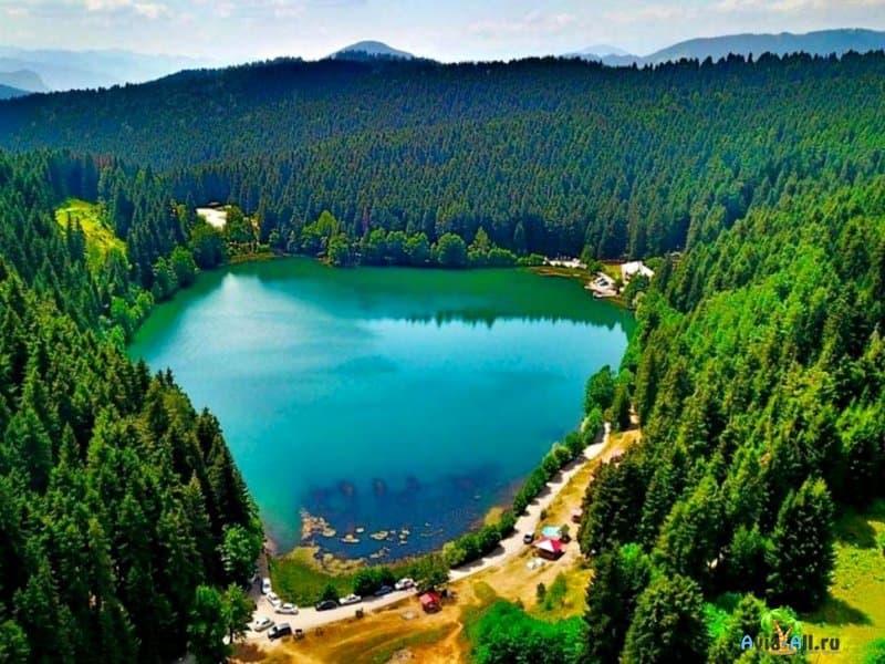 Черное, но не море, озеро в Турции -место для отдыха
