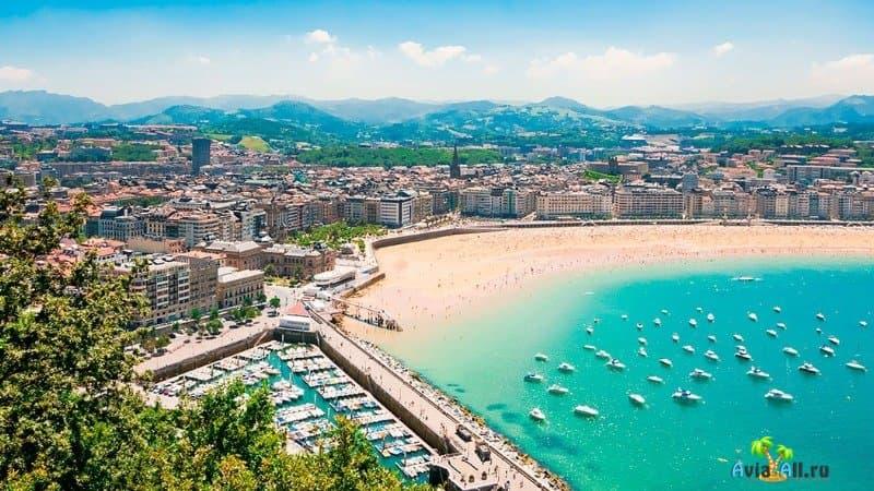 Сан-Себастьян Испания фото
