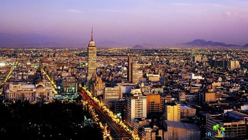 Мехико фото города
