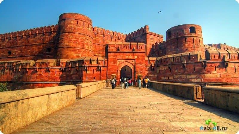 Красный Форт Агра Индия