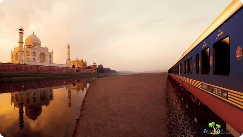 Поезд Махараджа Индия фото