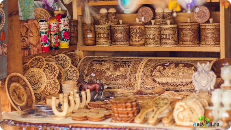 Сувениры Алтая
