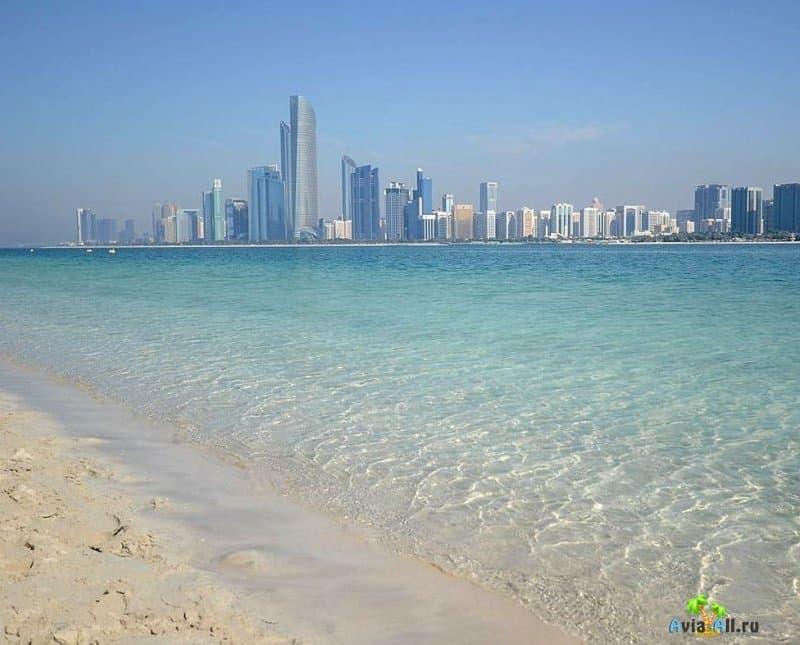 Пляжи в Абу-Даби: фото, отзывы